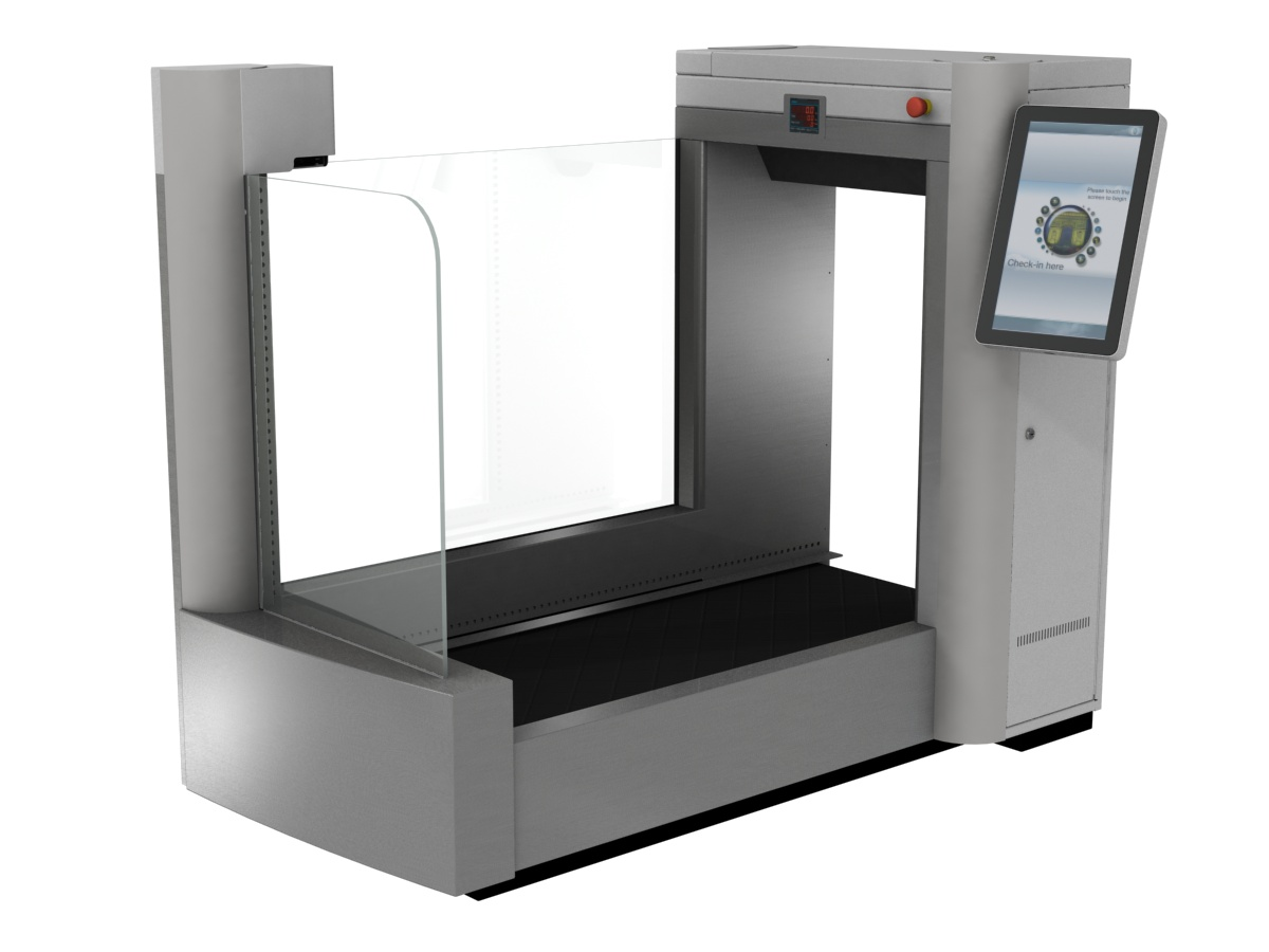 automated self bag drop software