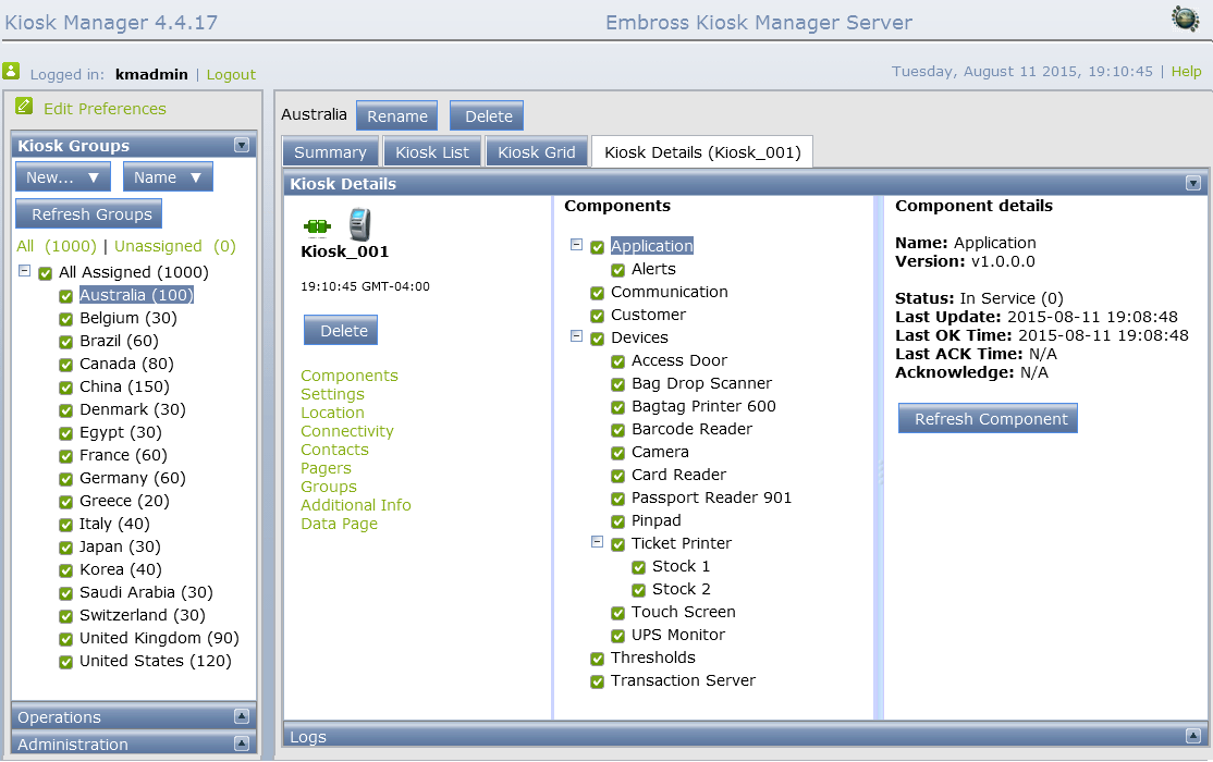 kiosk manager software screen 2
