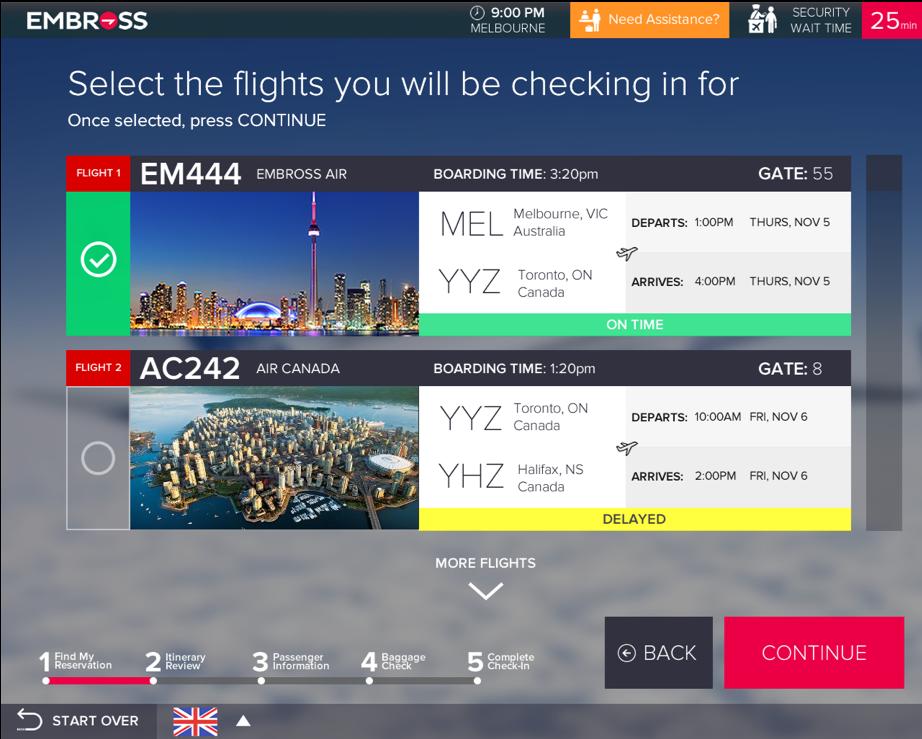 CUSS airport software